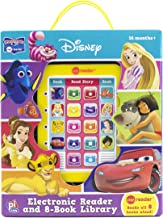 disney junior electronic reader and 8 book library