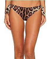 Dolce & Gabbana - Cheetah Side Tie Bikini Bottom