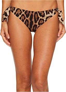 Dolce & Gabbana - Cheetah Side Tie Bikini Bottom