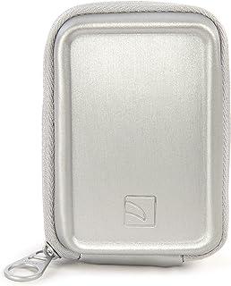 Tucano CBA XS SL Aluminium Hartschalentasche für Kompaktkamera Silber