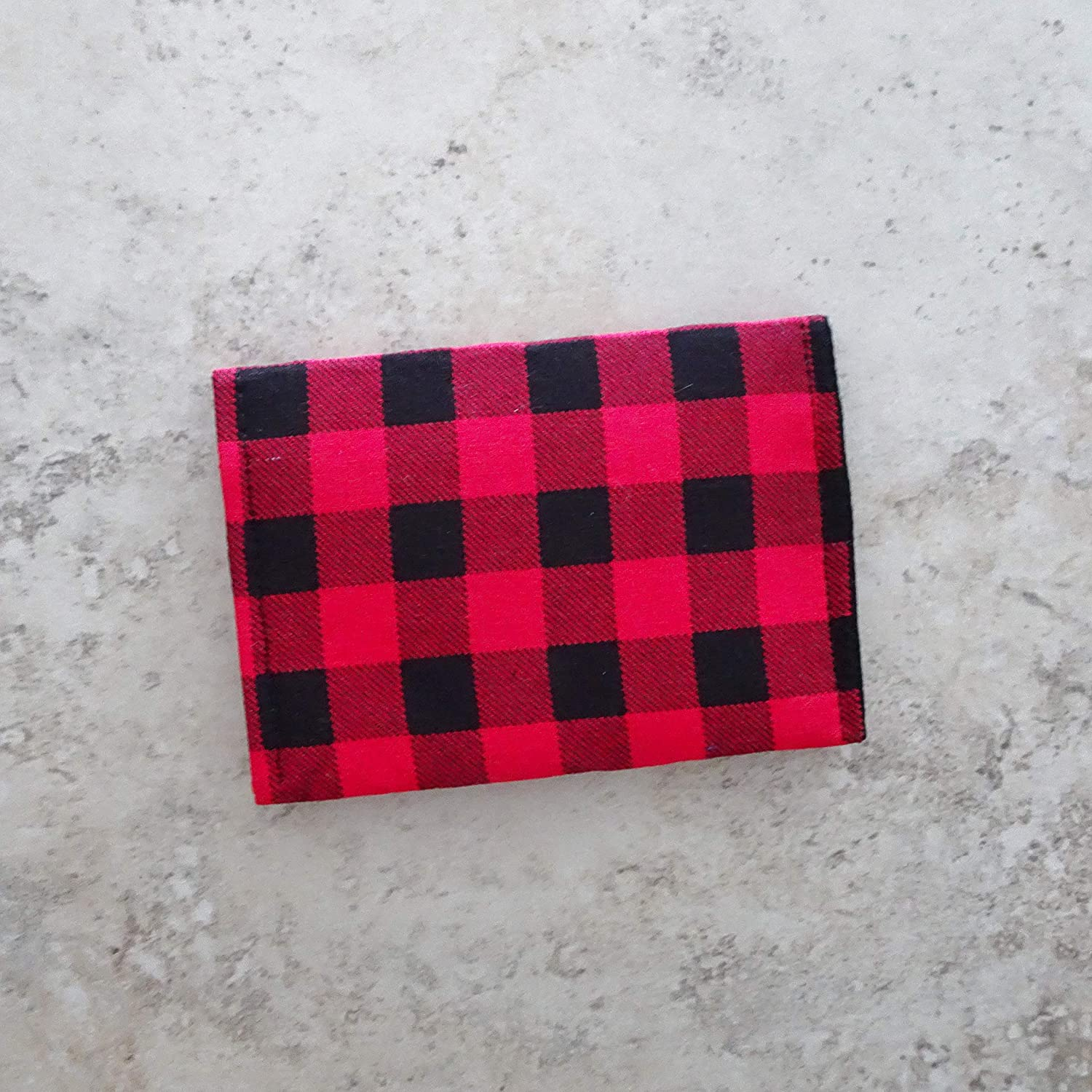 Business Card Attention brand Wallet Buffalo At the price of surprise Check Small Wallet. Fabric Fa