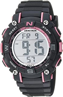Armitron Sport Women's 45/7099 Digital Chronograph Resin Strap Watch