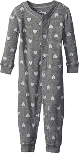 Wild Hearts Thermal Romper (Infant)