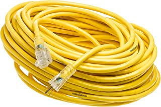 Yellow Jacket GIDDS-283429 2885 Contractor Extension Cord with Lighted Ends, 100 Foot…