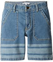 Little Marc Jacobs - Denim Effect Shorts (Little Kids/Big Kids)