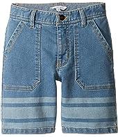 Little Marc Jacobs - Denim Effect Shorts (Little Kids/Big Kids)