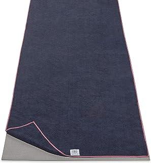 "Gaiam Yoga Mat Towel Microfiber Mat-Sized Yoga Towel for Hot Yoga (68"" L x 24"" W), Tropical Dusk"