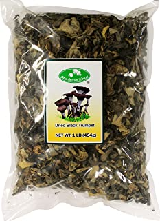 Mushroom House Dried Mushrooms, Black Trumpet, 1 Pound