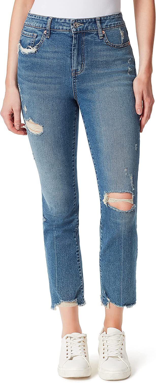 Jessica Simpson Women's Spotlight High Rise Slim Straight Ankle
