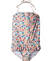 Seafolly Kids - Seaside Lane Blouson Tank Top (Infant/Toddler/Little Kids)