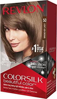 Revlon ColorSilk Haircolor, Light Ash Brown (pack of 3)