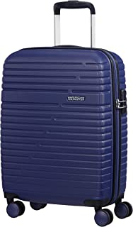 American Tourister Aero Racer Spinner 55-2.5 kg Suitcase 55 cm, Nocturne Blue (Blue) - 61G21001