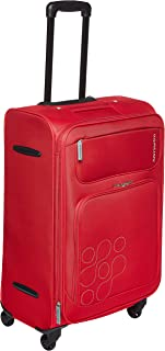 Kamiliant by American Tourister Himba Softside Spinner Luggage 64cm with 3 digit Number Lock - Red