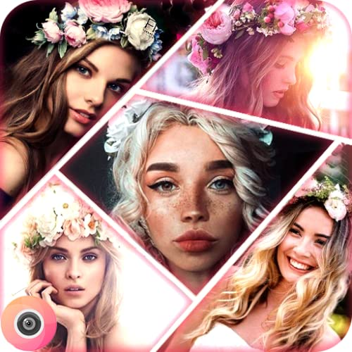 Beauty & Makeup Filter Selfie , Photo Editor-Wonder Camera ( snap filters - doggy style - NO.crop - photo Collage - photo effects )