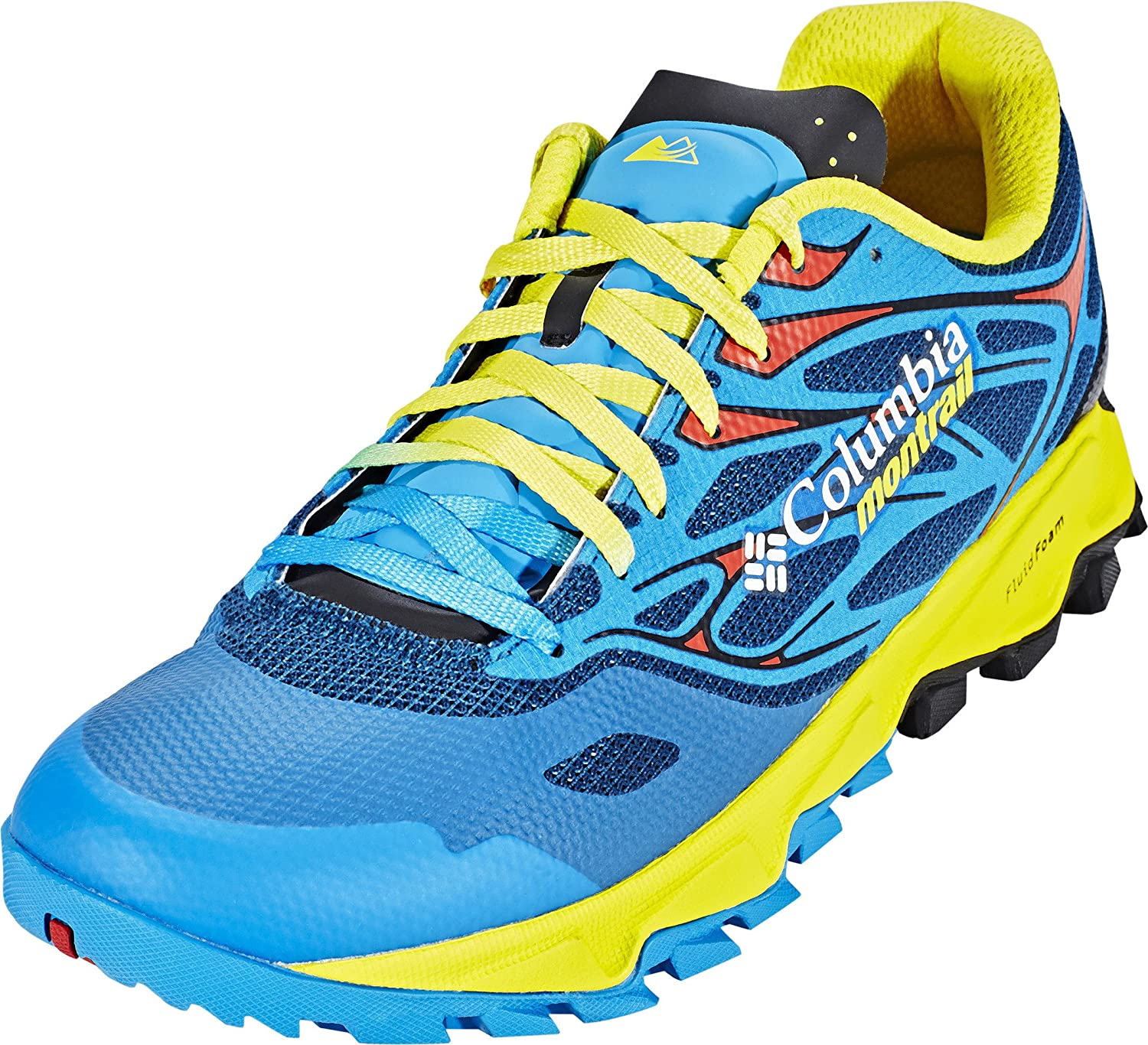 Columbia Trans Alps F.K.T. II shoes Yellow bluee 2017