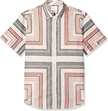 Billy Reid Men's Slim Fit Short Sleeve Button Down Murphy Shirt