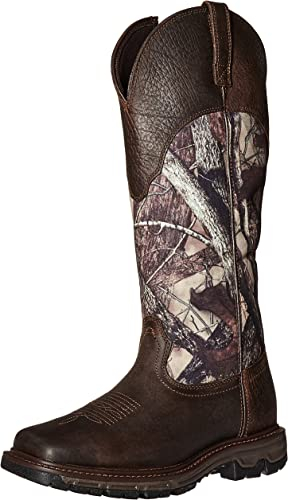 ARIAT - Chaussures de Plein air Conquest Snakedémarrage H2O Hunt pour Hommes, 42.5 M EU, Earth True Timber HTC Fang Stop