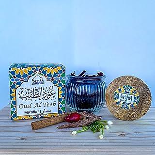 Oud Al Teeb Muattar Bakhoor - (1 Jar x 40g) Traditional Oud Bakhoor | For home use with exotic bakhoor burner, electric OR...