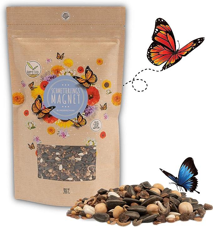 90 opinioni per 200g Semi di prato di farfalla per un prato di fiori colorati- ricco di nettare