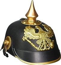 Forum Novelties German Officer Pickelhaub Helmet Black/Gold