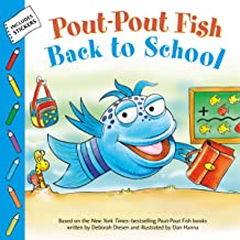 Pout-Pout Fish: Back to School (A Pout-Pout Fish Paperback Adventure)