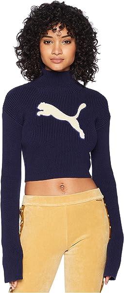 Puma x Fenty by Rihanna Long Sleeve Loose Turtleneck Sweater