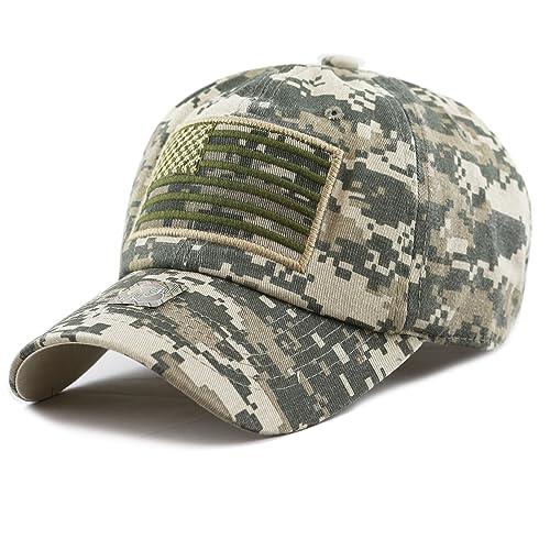 c3ba2eed THE HAT DEPOT Tactical Operator USA Flag Cap