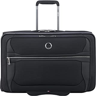 DELSEY Paris Executive Collection Softside Garment Travel Bag with 2 Wheels, Black