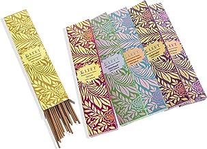 Eleet Hand Rolled Masala Incense Sticks - 20x6 Variety Pack Contains Patchouli Lavender Nag Champa Sandalwood Opium Franki...