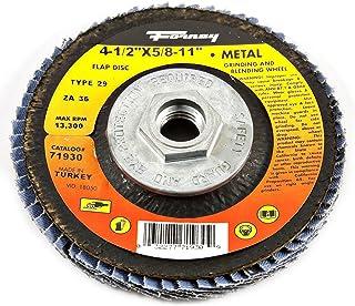 7//8 Zirconia Alumina 4-1//2 7//8 4-1//2 13000 rpm 80 Grit Weiler 804-31346 Vortec Pro Type 29 Flap Disc
