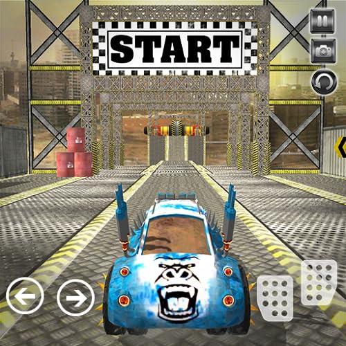 Mega Ramp Car Stunt