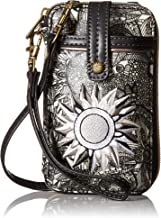 Sakroots Artist Circle Smartphone Wristlet Convertible Cross Body Bag