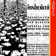 Paul Hindemith: Sonatas For Winds & Piano, Vol. 1