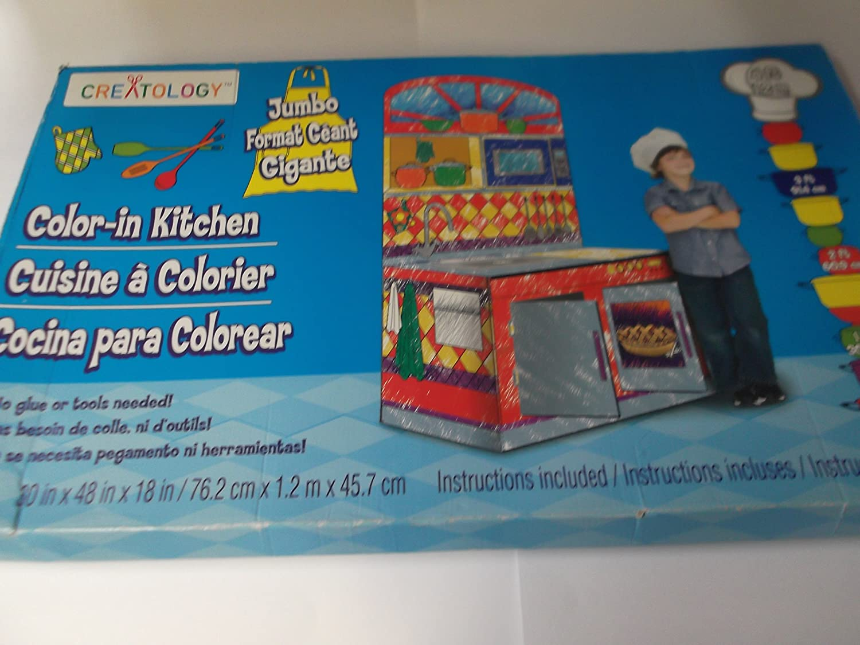 Rare Creatology Jumbo Long-awaited Color Kitchen in
