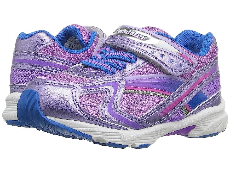 Tsukihoshi Kids Glitz (Toddler/Little Kid) (Purple/Royal) Girls Shoes