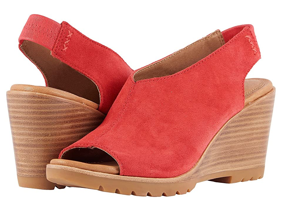 SOREL After Hours Slingback (Bright Red) Women