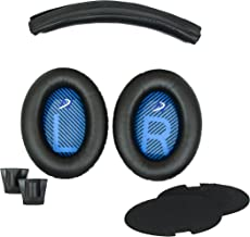 Replacement Ear Pads and Headband Cushion pad for Bose Quiet Comfort 2 (QC2) and Quiet Comfort 15(QC15) Headphones - The Headband is NOT Compatible with Any Other Models