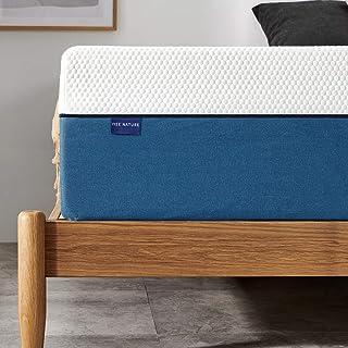 Queen Mattress, Iyee Nature 10 inch Gel Memory Foam Mattress in a Box, Foam Bed Mattress Medium Firm Foam Queen Size Mattress