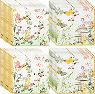 Talking Tables Truly Fairy Paper Napkins (13 inch) for a Birthday Party or Tea Party, Multicolor (40 Pack)