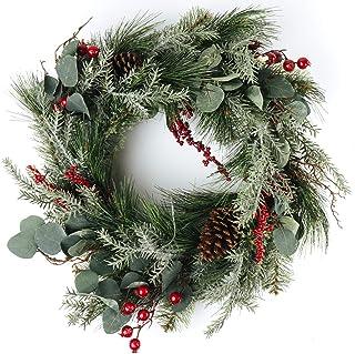 "CraftMore Brighton Pine Wreath 24"""