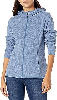 Women's Long-Sleeve Hooded Full-Zip Polar Fleece Jacket