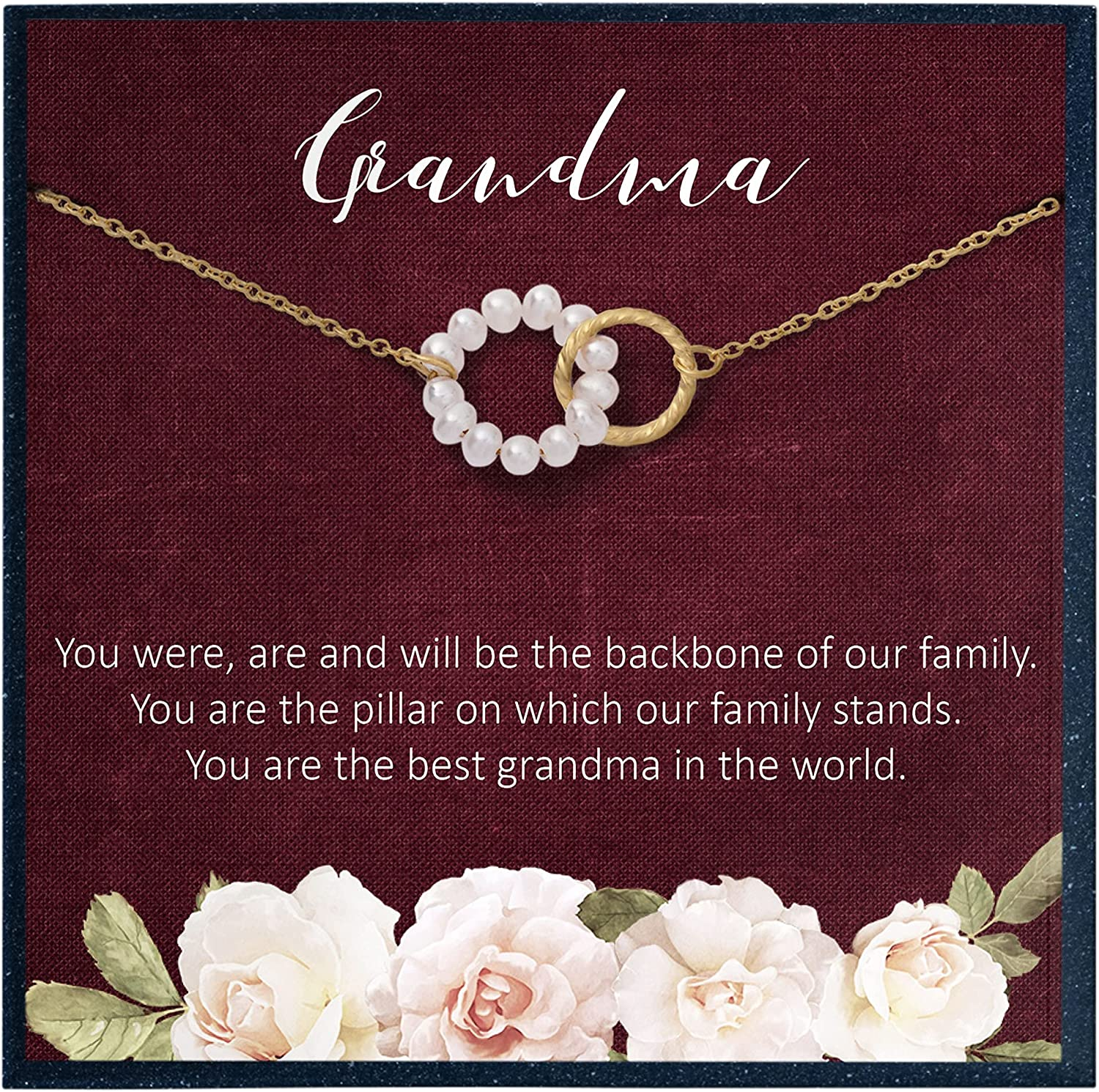 Grandma Necklace for Gift Gifts Free shipping anywhere in Popular overseas the nation Grandmother