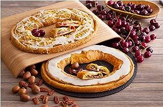Danish Kringle Pair - Cherry Cheese & Pecan, Danish Pastry, Food Gift, Dessert