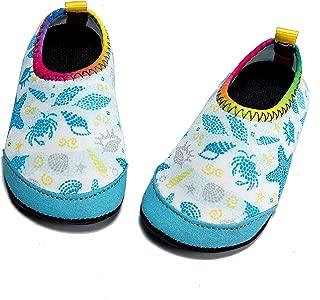 Baby Boys Girls Water Shoes Infant Barefoot Quick -Dry Anti- Slip Aqua Sock for Beach Swim Pool