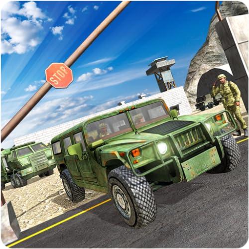 Transporte de fronteira de carga do exército