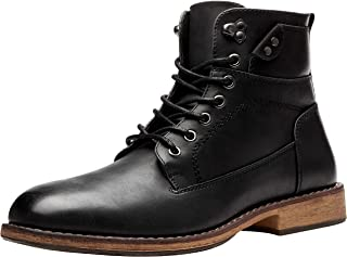 VOSTEY Men's Chukka Boots Motorcycle Casual Hiking Boot