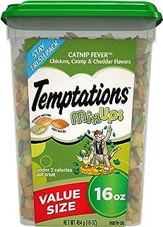 TEMPTATIONS MixUps Crunchy and Soft Cat Treats, 16 oz.