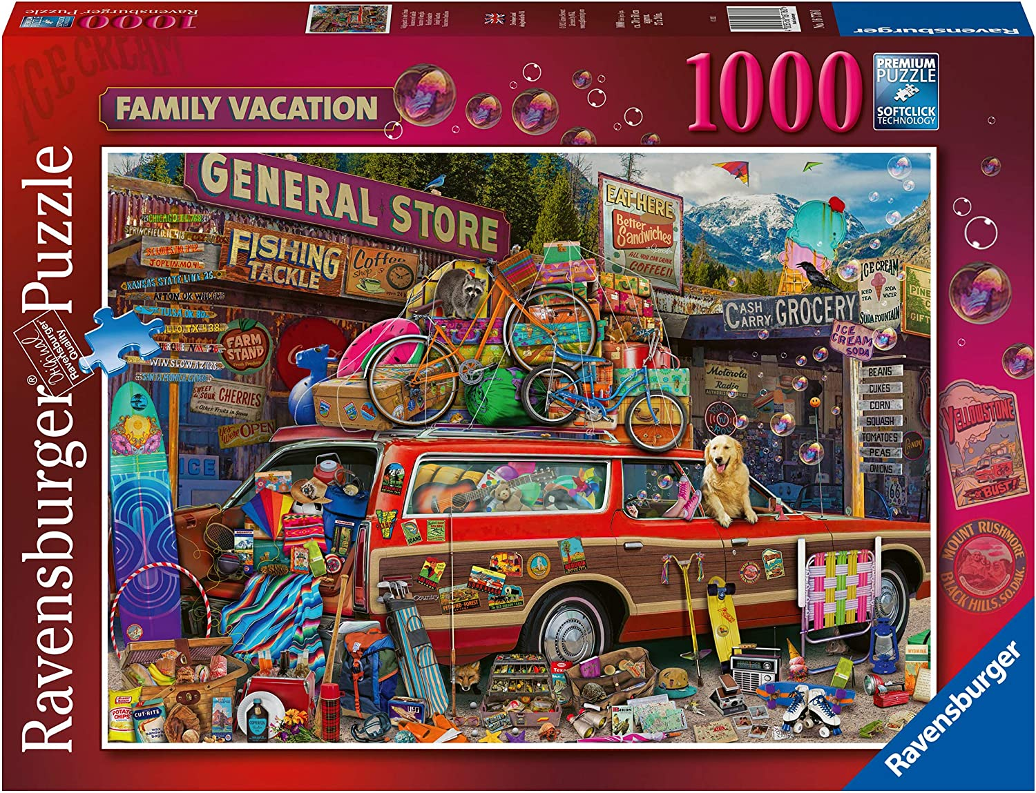 Ravensburger 16776 Aimee Stewart Family Vacation 1000 Piece Jigsaw Puzzle for Adults & for Kids Age 12 and Up