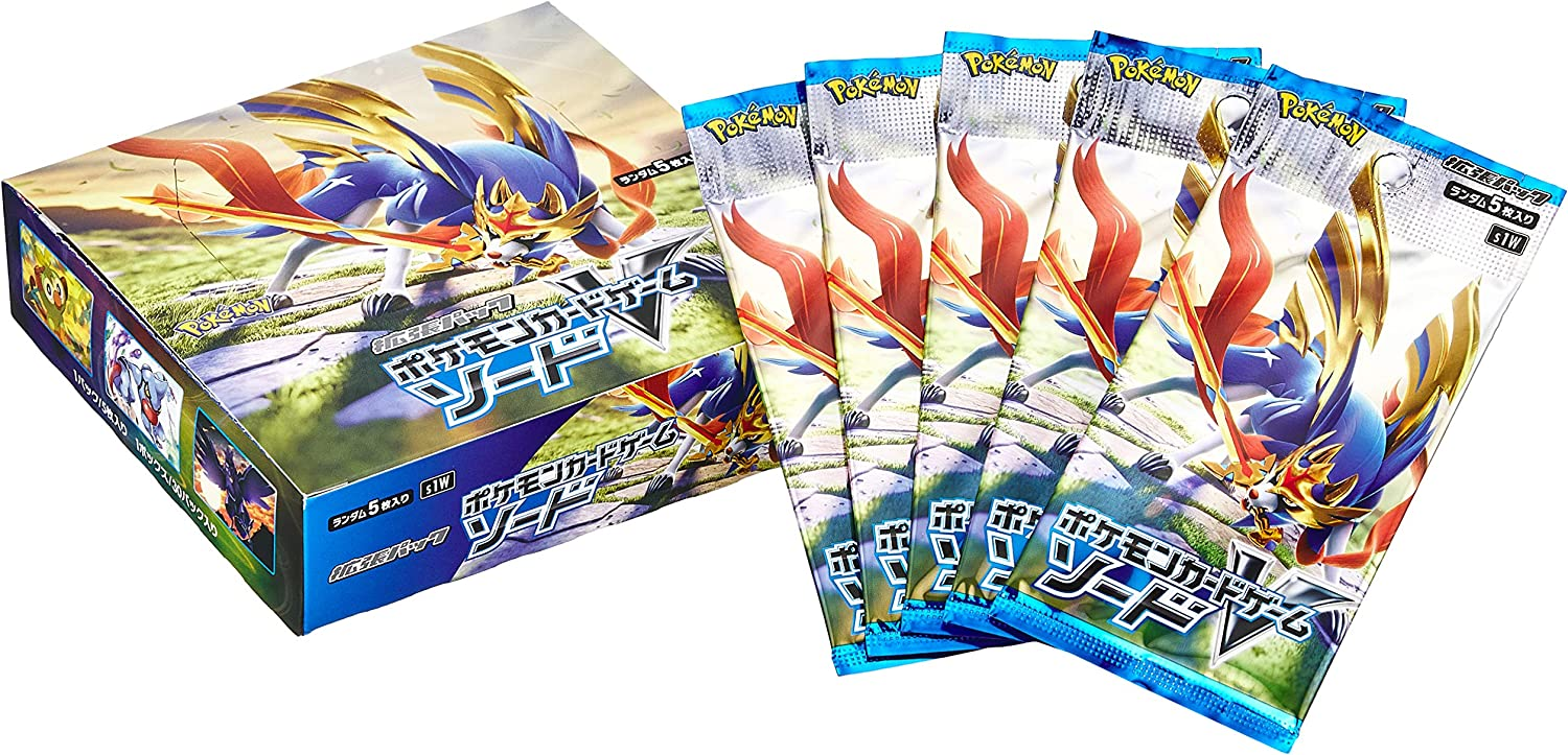 Pokemon Card Game Sword /& Shield Booster Box Twin Fighter Japanese NEW