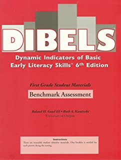 Dibels, 6th Edition, First Grade Scoring Booklet, Benchmark Assessment, Packet of 25, ISBN 1593180098, 9781593180096